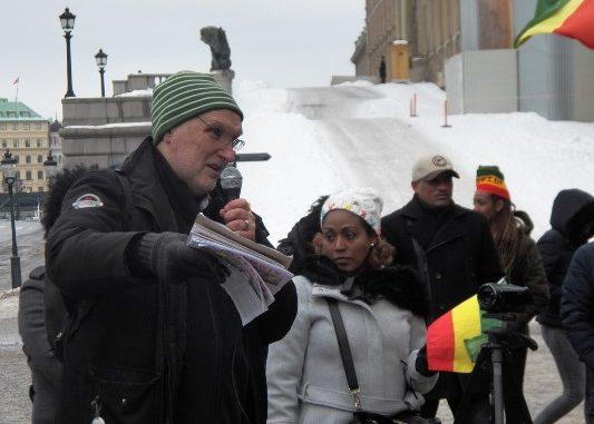 PAK addressing Ethiopian protest